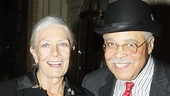 Driving Miss Daisy Opening Night – James Earl Jones – Vanessa Redgave (portrait)