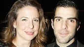 And here's the Angel herself, Robin Weigert, pictured with Zachary Quinto.