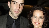 Angels in America Opening Night – Zachary Quinto – Carla Gugino