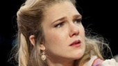 Lily Rabe as Portia in The Merchant of Venice.