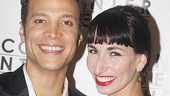 Justin Guarini and his onstage fiancee Nikka Graff Lanzarone (Marisa) are thrilled to be making their Broadway debuts.