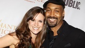 Merchant of Venice Opening night  Liza J. Bennett  Jesse L. Martin