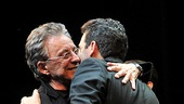 Jersey Boys Fifth Anniversary  Frankie Valli  Jarrod Spector (curtain call)