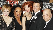 Chicago's Charlotte d'Amboise, Roz Ryan, Leigh Zimmerman, Brent Barrett and Raymond Bokhour receive the razzle dazzle treatment on the show's big night.