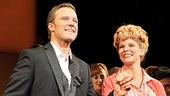 Take a bow, Will Chase and Kelli O'Hara! The stars of Bells Are Ringing look picture-perfect together.