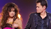 Marie Osmond and Donny Osmond in Donny & Marie: A Broadway Christmas.