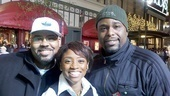 Memphis at Macys Thanksgiving Day Parade  James Monroe Iglehart  Montego Glover  J. Bernard Calloway