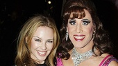 Kylie Minogue & Graham Norton at La Cage aux Folles – Kylie Minogue – Christophe Cabellero