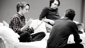 Other Desert Cities Rehearsal  Elizabeth Marvel  Thomas Sadoski  Joe Mantello