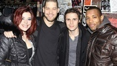 Kris Allen joins ranks with ensemble members Alysha Umphress, Ben Thompson and Wallace Smith.