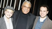 James Earl Jones 80th Birthday – James Earl Jones – Cecilia Hart Jones – Flynn Earl Jones