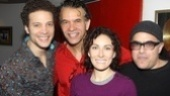 Show stars Justin Guarini, Brian Stokes Mitchell and Laura Benanti join composer/CD producer David Yazbek for a pre-recording snapshot.