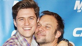 Catch Me If You Can First Rehearsal  Aaron Tveit  Norbert Leo Butz (cheek to cheek)