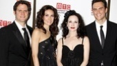 Looking black-tie ready, Steven Pasquale, Laura Benanti, Bebe Neuwirth and Cheyenne Jackson walk the red carpet before Manhattan Theatre Club's winter benefit.