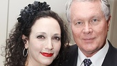 As always, Addams Family star Bebe Neuwirth can count on her husband, Chris Calkins, for support.