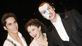 Sean MacLaughlin, Sara Jean Ford and Hugh Panaro form the ultimate love triangle as Raoul, Christine and the Phantom. Offstage, they're huge pals.