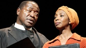 Chuck Cooper as Stephen Kumalo and Sharon Washington as Grace Kumalo in Lost in the Stars.