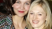 Maggie Gyllenhaal joins castmate Marin Ireland for a photo.