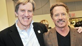 Proud papas! Tom Wopat and Nick Wyman play the fathers of Frank Abagnale Jr. and Brenda Strong.