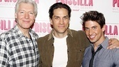 Priscilla rehearsal – Tony Sheldon – Will Swenson – Nick Adams