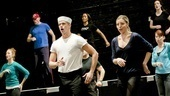 Anything Goes in Rehearsal   ensemble