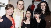 Spidey Kelly Clarkson  Kelly Clarkson  Reeve Carney  Lisa and Jessica Origliasso - Zane Carney