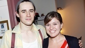 He plays an American hero and she's the original American Idol! Spider-Man's Reeve Carney snaps a shot alongside Kelly Clarkson.
