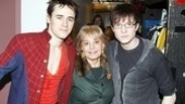 Barbara Walters Spidey  Reeve Carney  Barbara Walters  Matthew James Thomas