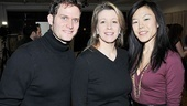 Stage sibs Steven Pasquale and Linda Emond pose with Hettienne Park, who is cast as Pasquale's wife.