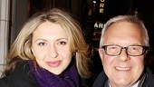 Good People Opening Night  Nina Arianda  Walter Bobbie