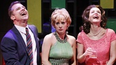 Maxwell Caulfield as Julian Winston, Lois Robbins as Stephanie Dickinson, Jenni Barber as Toni Simmons and Anthony Reimer as Harvey Greenfield in Cactus Flower.