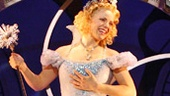 Katie Rose Clarke as Galinda in Wicked.