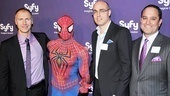 SyFy Stars at &lt;i&gt;Spider-Man, Turn off the Dark&lt;/i&gt; - Dave Howe  Spider-Man  Blake Callaway  Chris Czarkowski