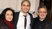 Ghetto Klown opens  Lin-Manuel Miranda  parents 