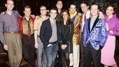 Kevin Jonas at Million Dollar Quartet  Corey Kaiser - Jared Mason - Larry Lelli, Kevin Jonas - Danielle Deleasa Jonas - Lance Guest - Eddie Clendening - James Moye - Eric Hayden  - Victoria Matlock