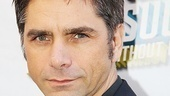 John Stamos played J. Pierrepont Finch in the previous Broadway revival of How to Succeed and tweeted a rave review of Daniel Radcliffe during previews. On opening night, he's back!
