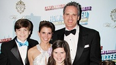 How to Succeed Opening Night  Michael Park  wife Laurie  children