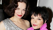 Mother and daughter? Not quite: But Tammy Blanchard does have an Emmy for playing Judy Garland—and now she's got a snapshot with Liza Minnelli!
