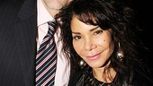 Daphne Rubin-Vega, who starred in Blood from a Stone earlier this season at the New Group, enjoys the evening with her husband, Tommy Costanza.