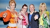 Mayor Bloomberg is having the time of his life with Mamma Mia! stars Judy McLane, Jennifer Perry and Lisa Brescia. You can, too, by heading to the Winter Garden Theatre!