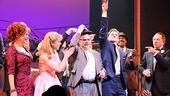Catch Me If You Can Opening Night  curtain call (Norbert hat)