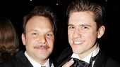 Catch Me If You Can Opening Night  Norbert Leo Butz  Aaron Tveit (pointing)
