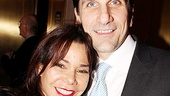 Daphne Rubin-Vega cheers on her LAByrinth Theater Company pals with husband Tommy Costanzo
