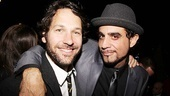 Paul Rudd congratulates show star Bobby Cannavale.