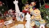 Opening Night of Wonderland – tea party table