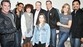 Mike Huckabee at <i>Wonderland</i> -Danny Stiles – E. Cornelious Clayton – Janet Dacal - Mike Huckabee – Carly Rose Sonenclar – Darren Ritchie - Karen Mason – Jose Llana