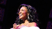 Patina Miller is aglow in the Donna Summer dress of Deloris' dreams.