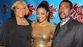 Sister Act Opening Night  Patina Miller and parents