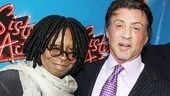 Sister Act Opening Night - Whoopi Goldberg  Sylvester Stallone 