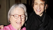 Sister Act Opening Night   Natasha Katz and mom 